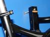 metal bike rack