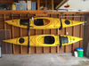 store kayaks in garage