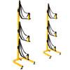 suspenz 3-boat kayak freestanding rack