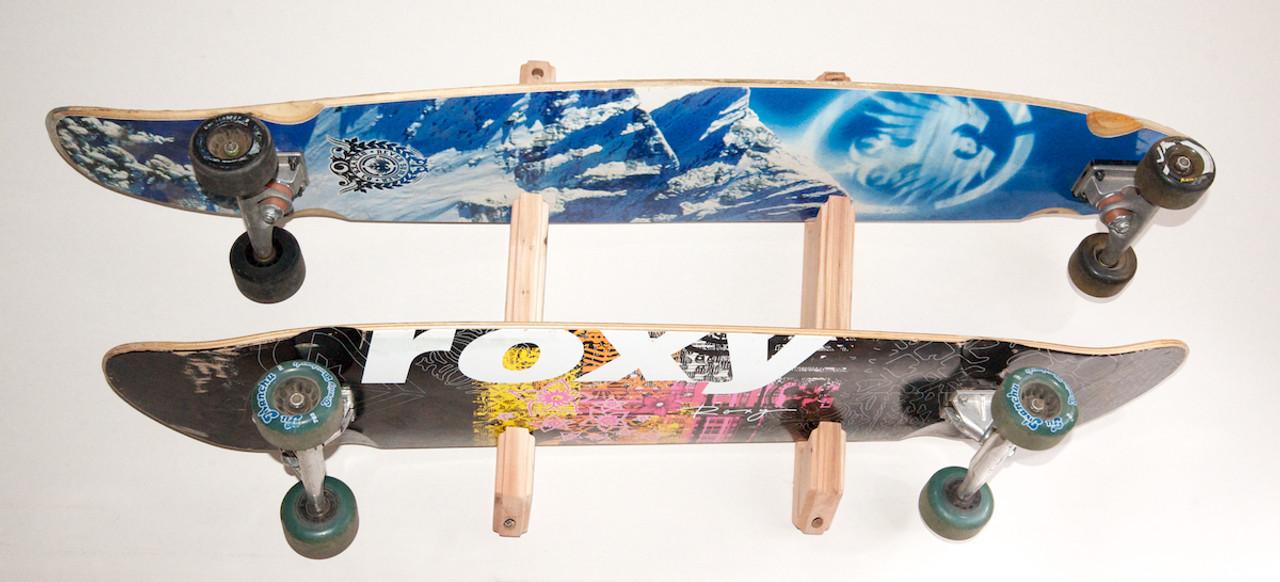 quality skateboard rack