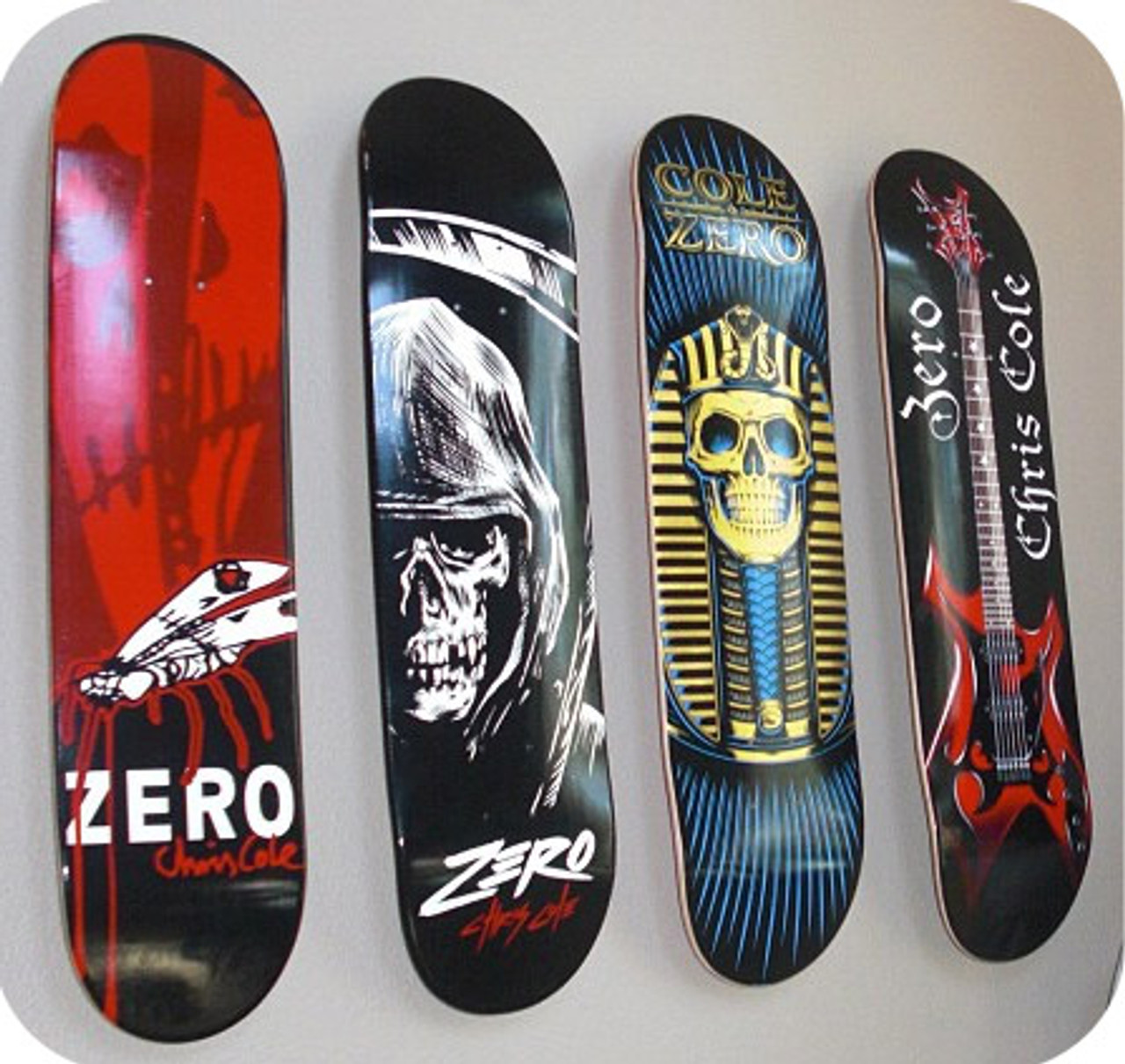 floating mount skateboard display