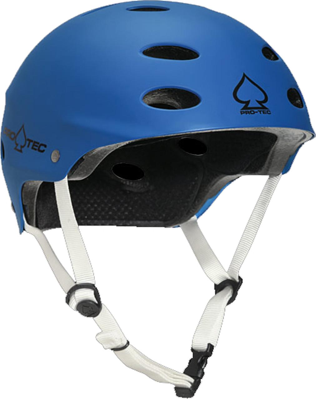 Pro Tec Ace Sxp Matte Blue Skateboard Helmet