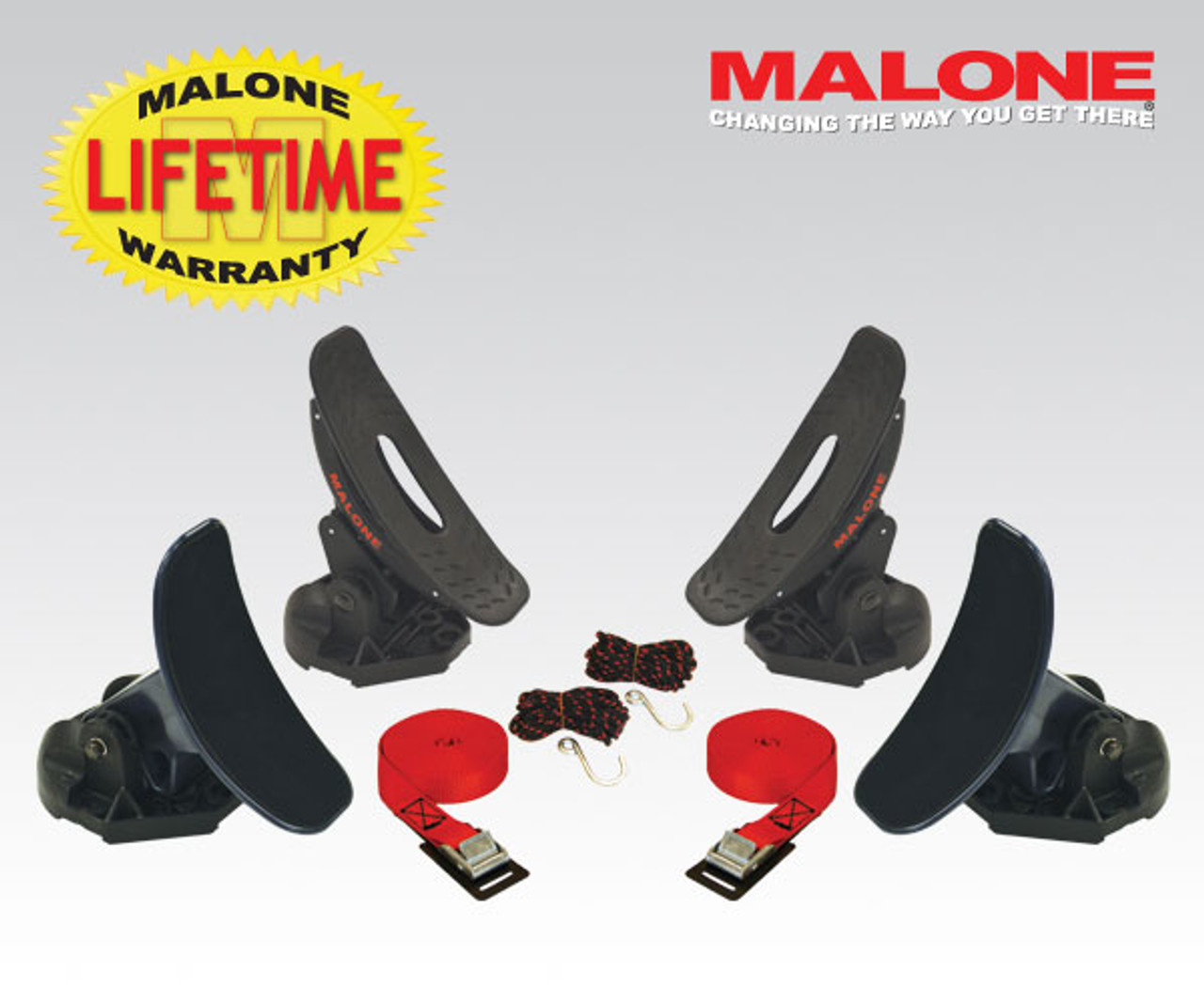 malone saddle pro kayak roof rack