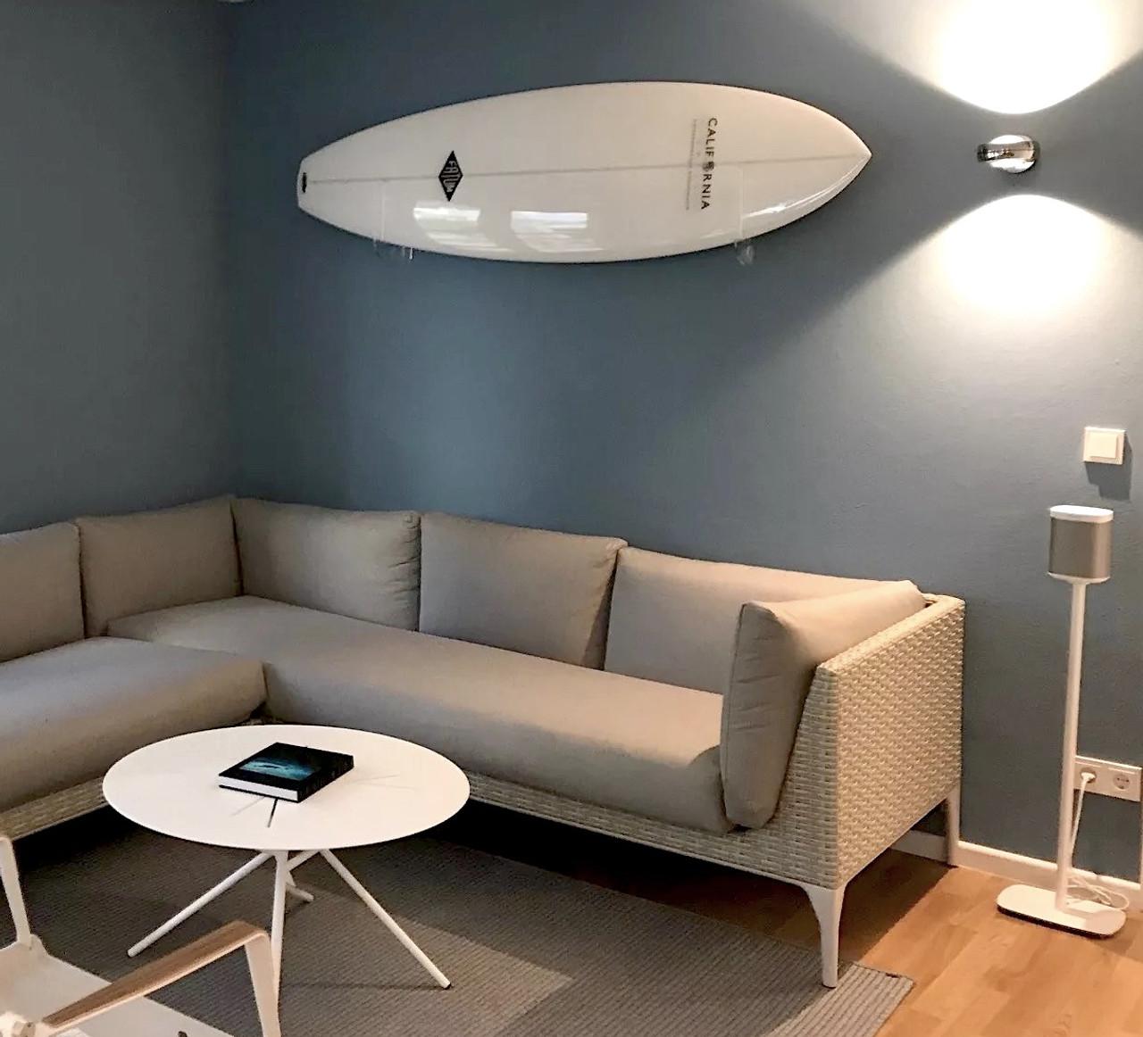 Clear Acrylic Surfboard Wall Rack Storeyourboard Com