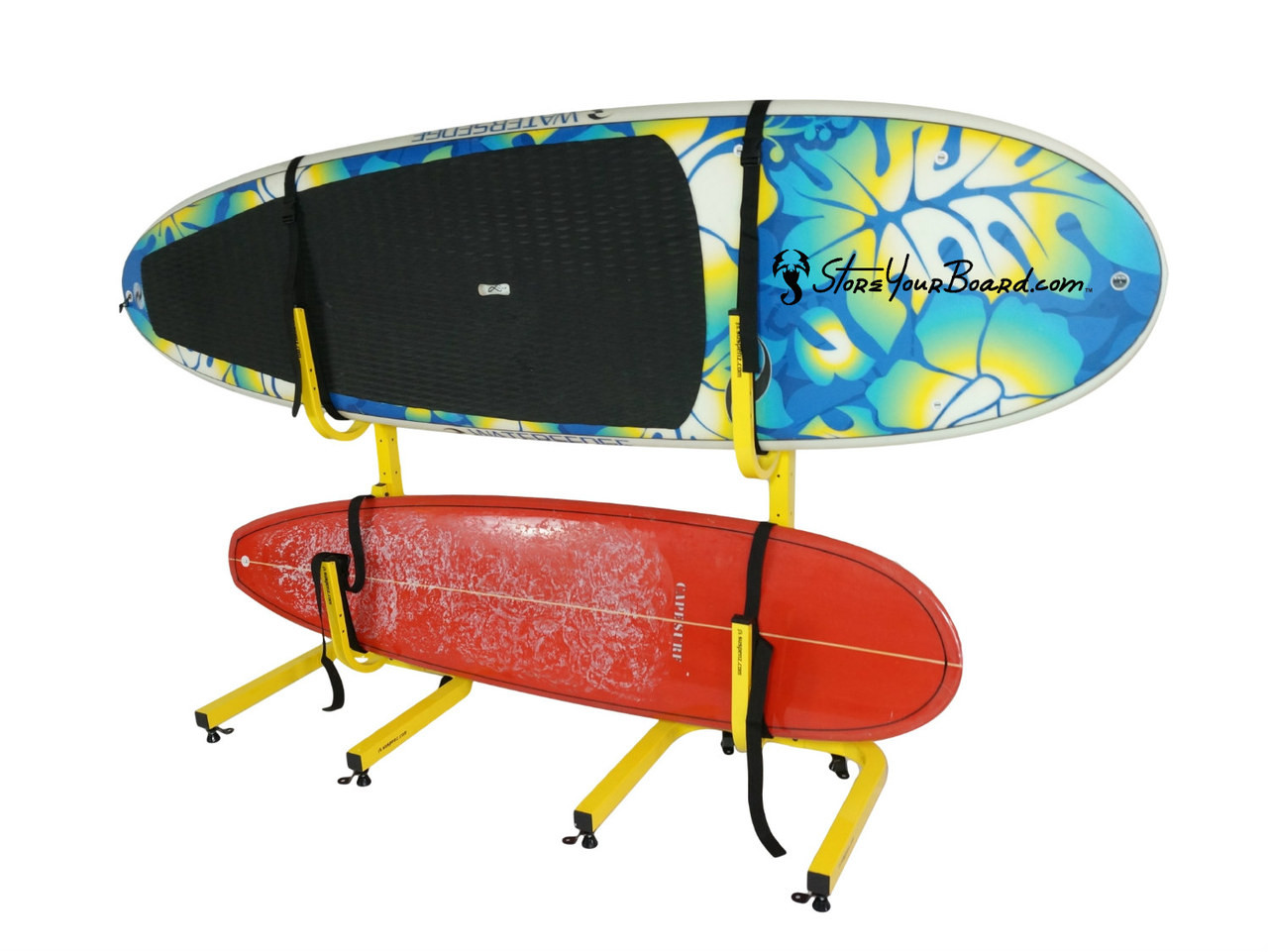 free standing sup rack