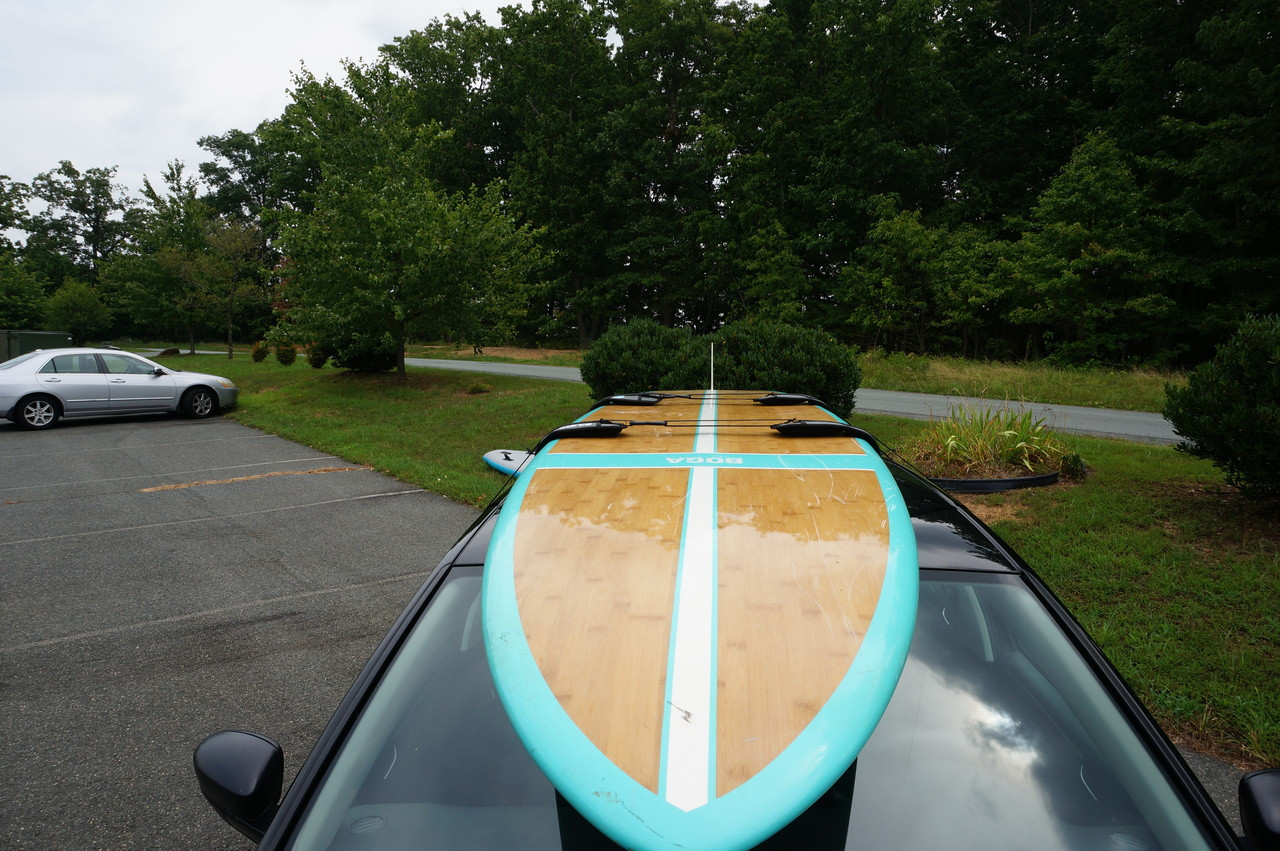 Sup Roof Racks 2 Paddleboard Car Rack Storeyourboard Com