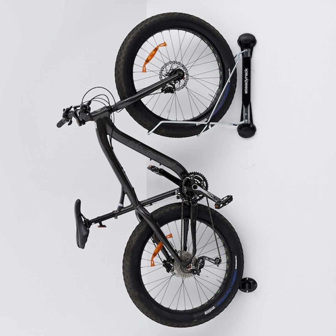 Fat Tire Bike Wall Rack Swivel Vertical Storage Mount