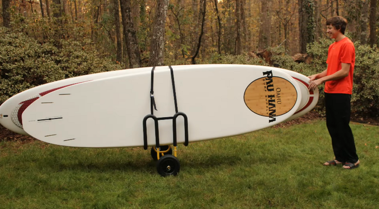 Sup Carrier Paddleboard Cart Storeyourboard Com