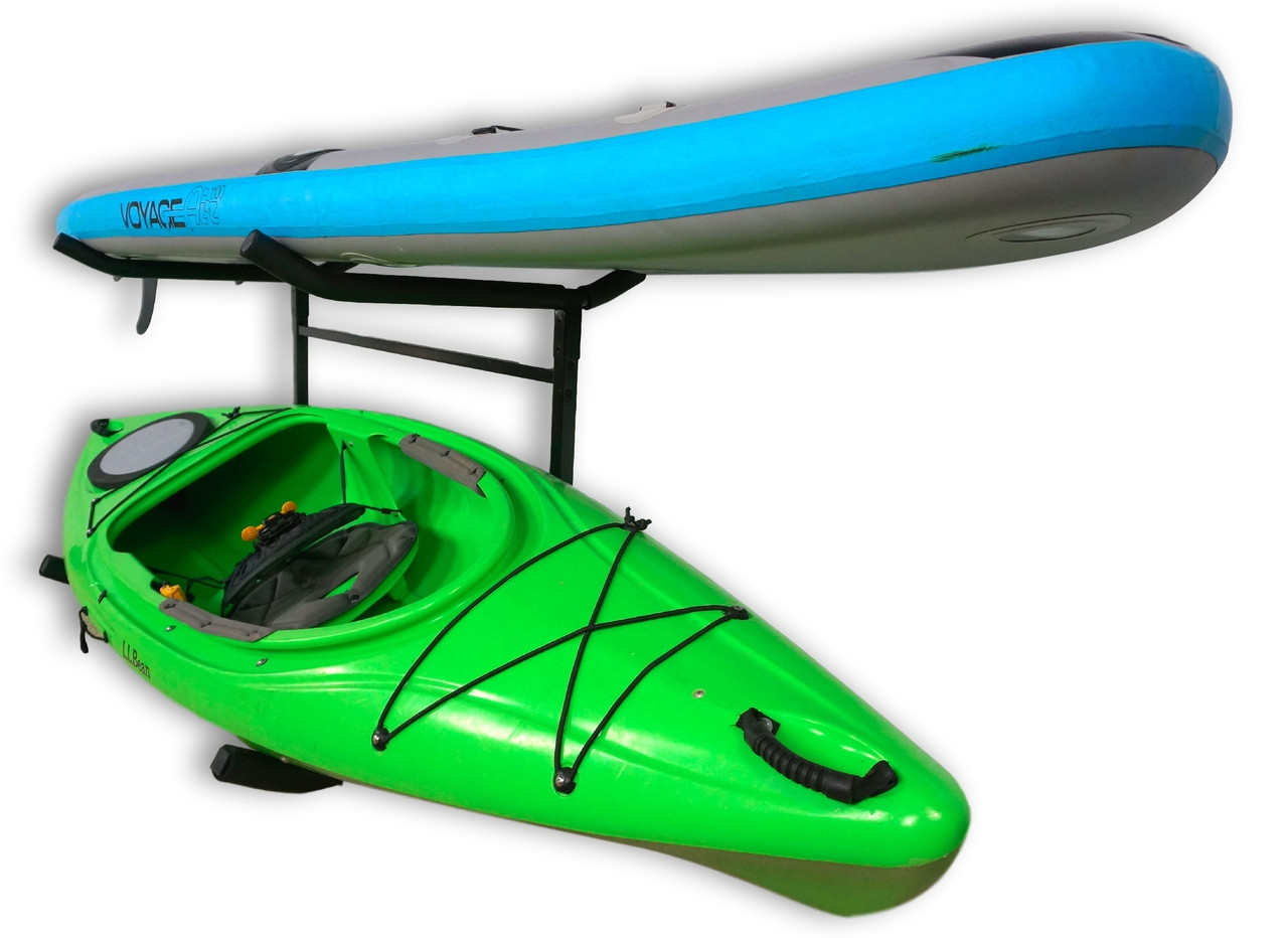 Kayak And SUP Storage Rack. Kayak And Paddleboard Rack Dimensions. Freestanding  Kayak Storage