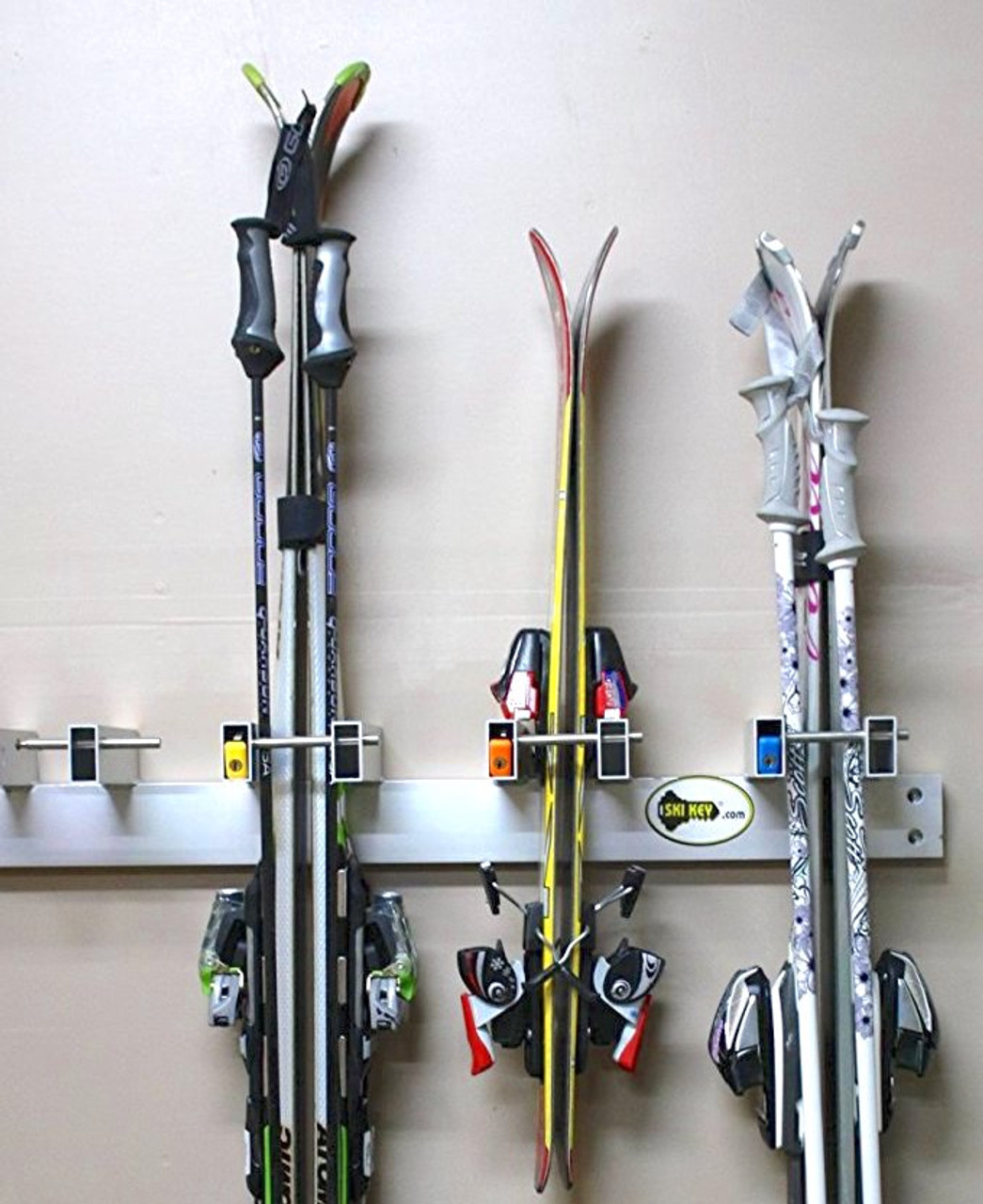 ski key wall rack