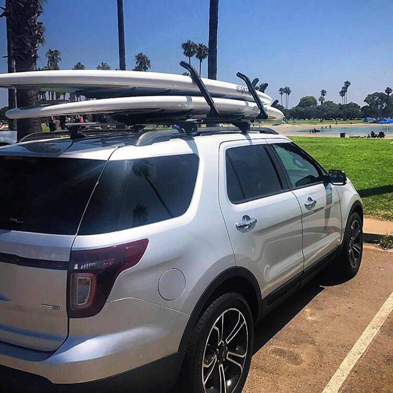 Double Sup Locking Roof Rack Adjustable Arms