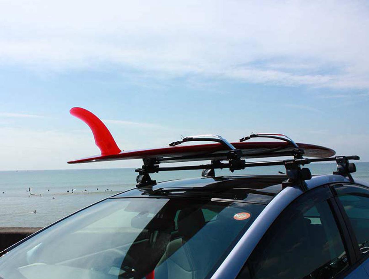 Locking Surfboard Roof Rack System | Inno Boardlocker