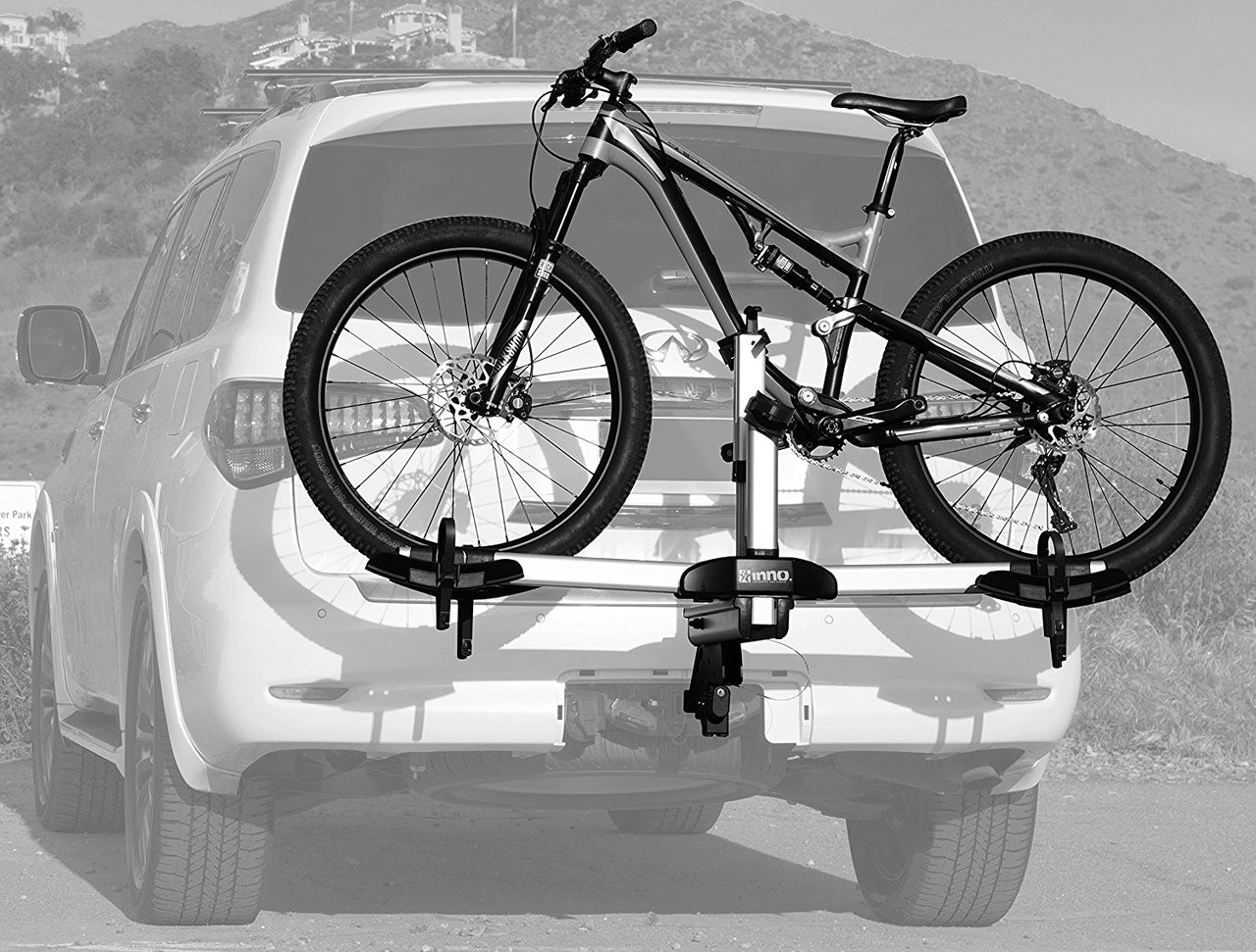 Ultralight Bike Trailer Hitch Rack Inno Storeyourboard Com
