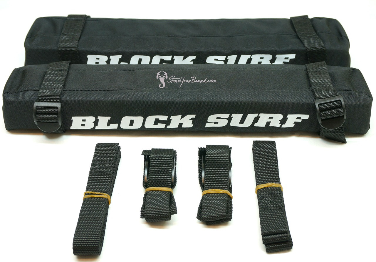 Suv Roof Rack Pads With Tie Down Straps Blocksurf
