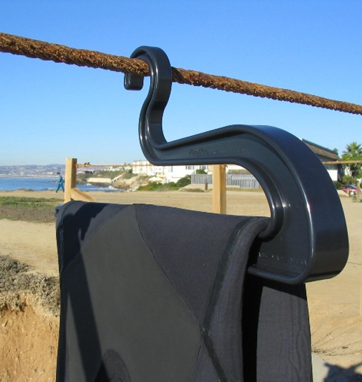 wetsuit drying hanger