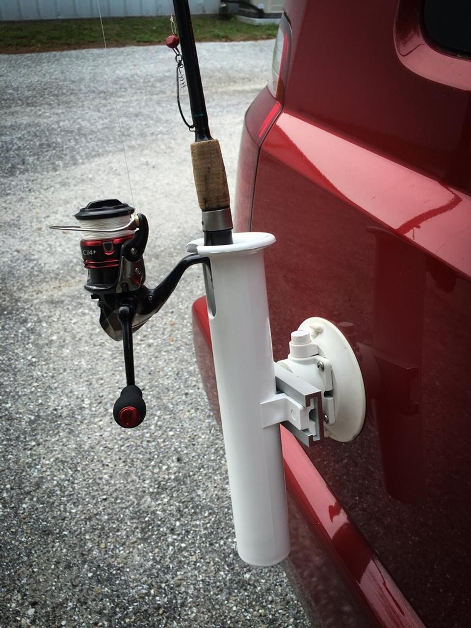 single suction rod holder