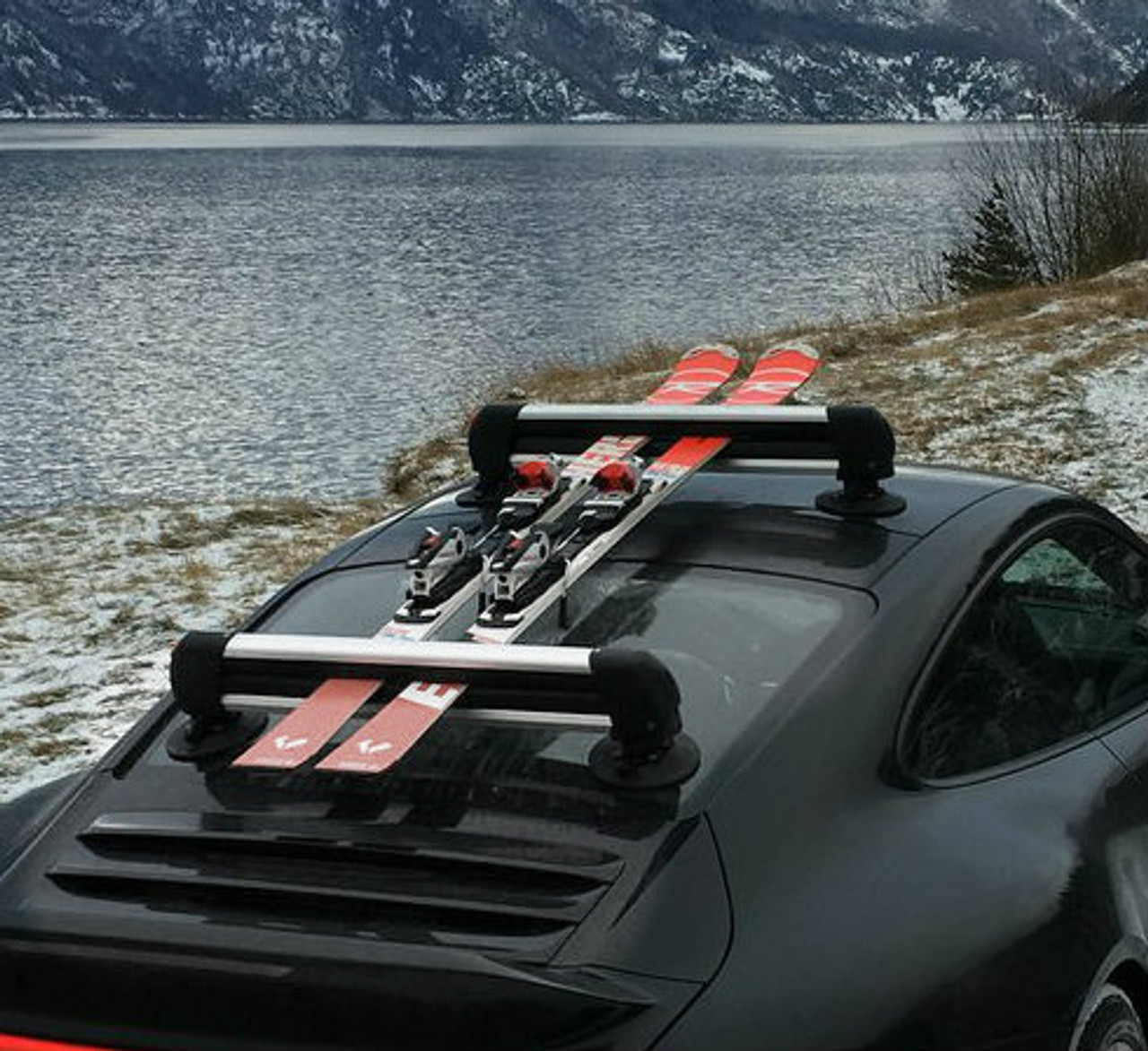 suction mount ski rack