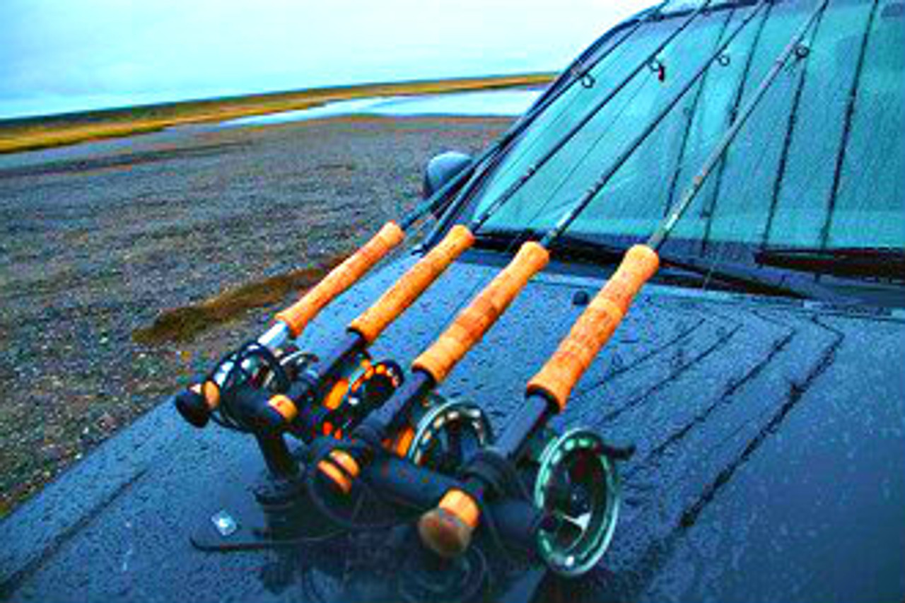 Magnetic Fishing Rack | Hood Mount | Sportube