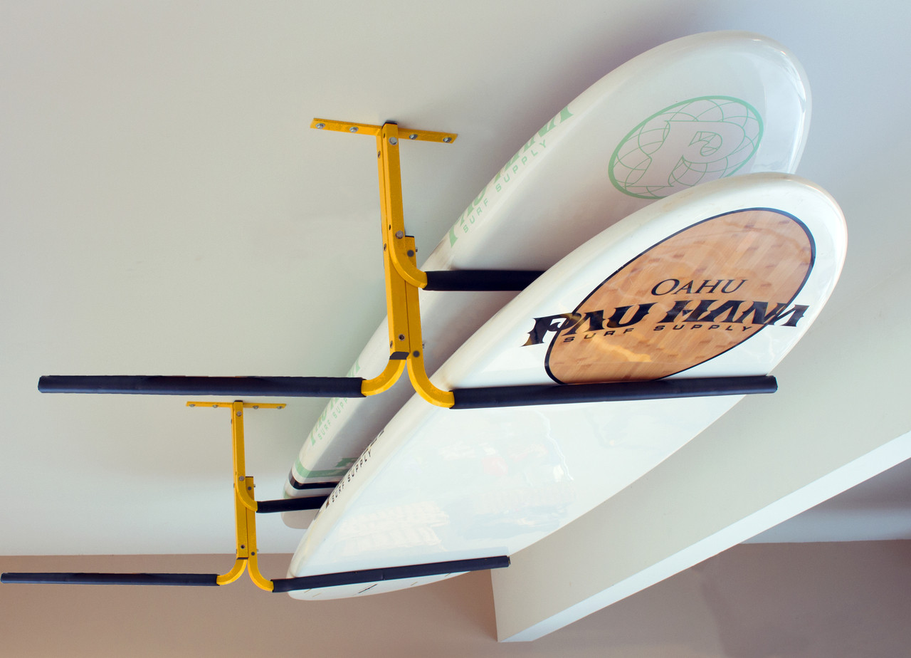 SUP and Surfboard Ceiling Rack | Expandable Storage