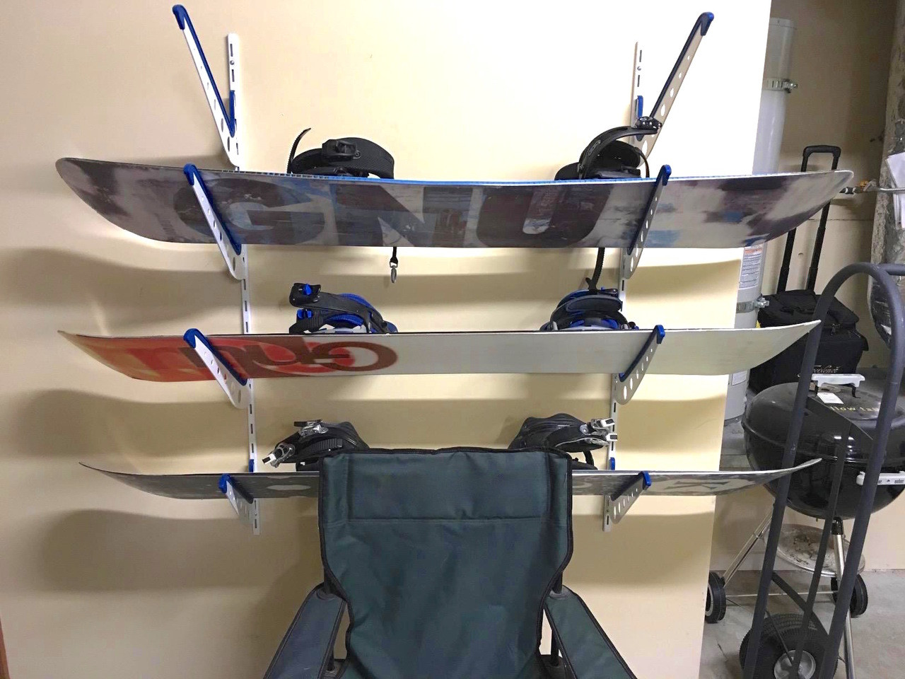 Snowboards Home Wall Storage Rack
