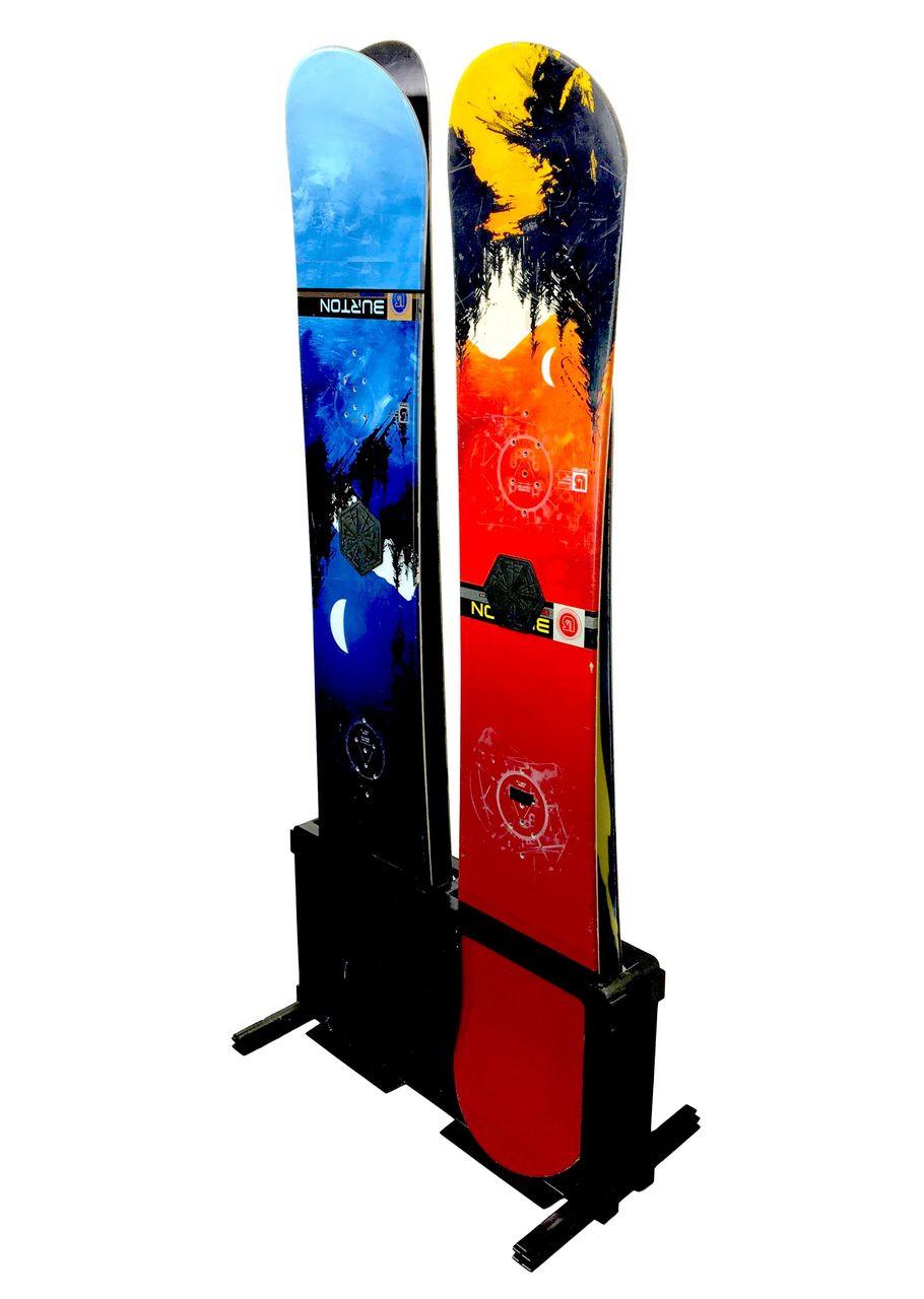 Snowboard Storage Rack | Free Standing | 4 Boards | Demo