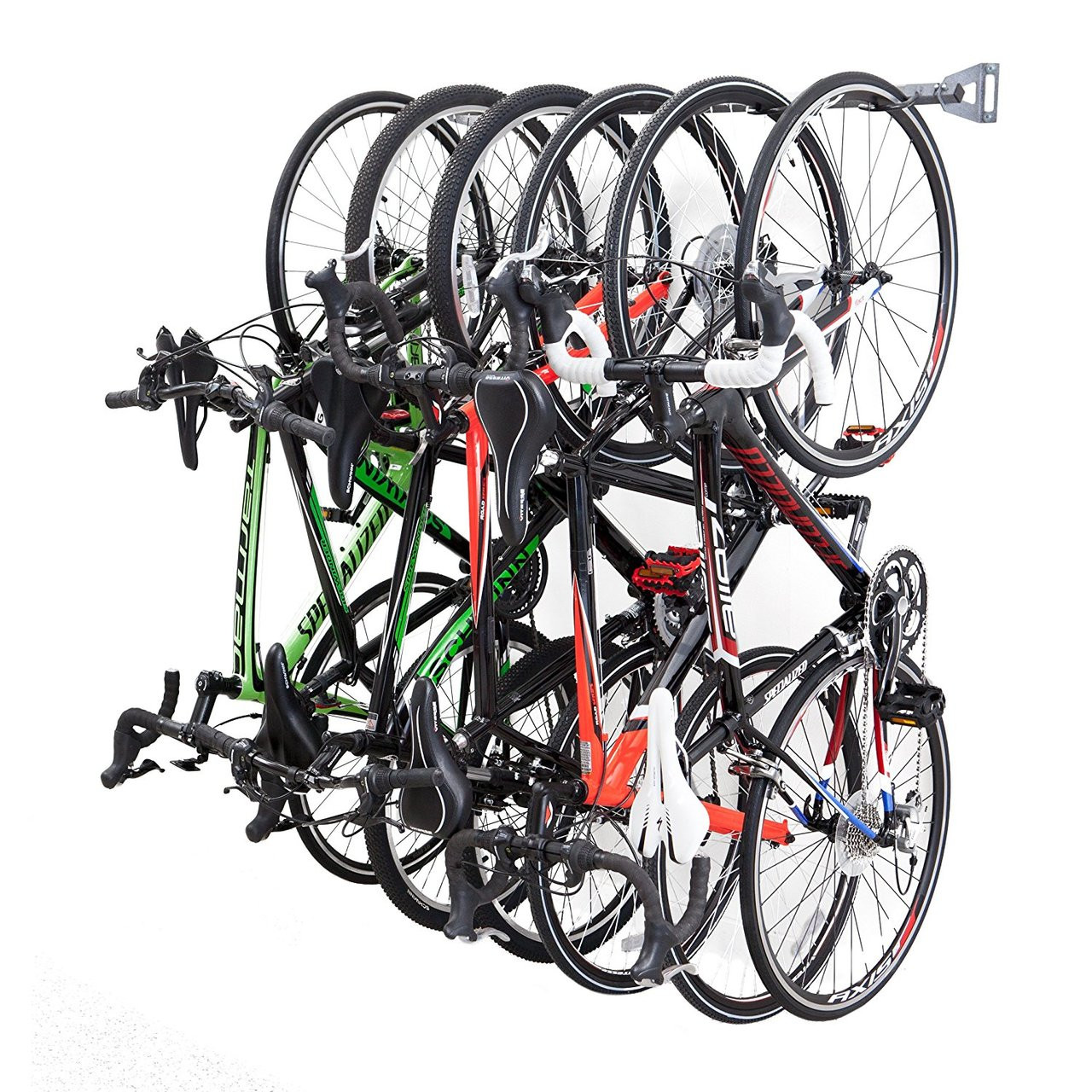 Bike Storage Rack | 6 Hanging Bikes