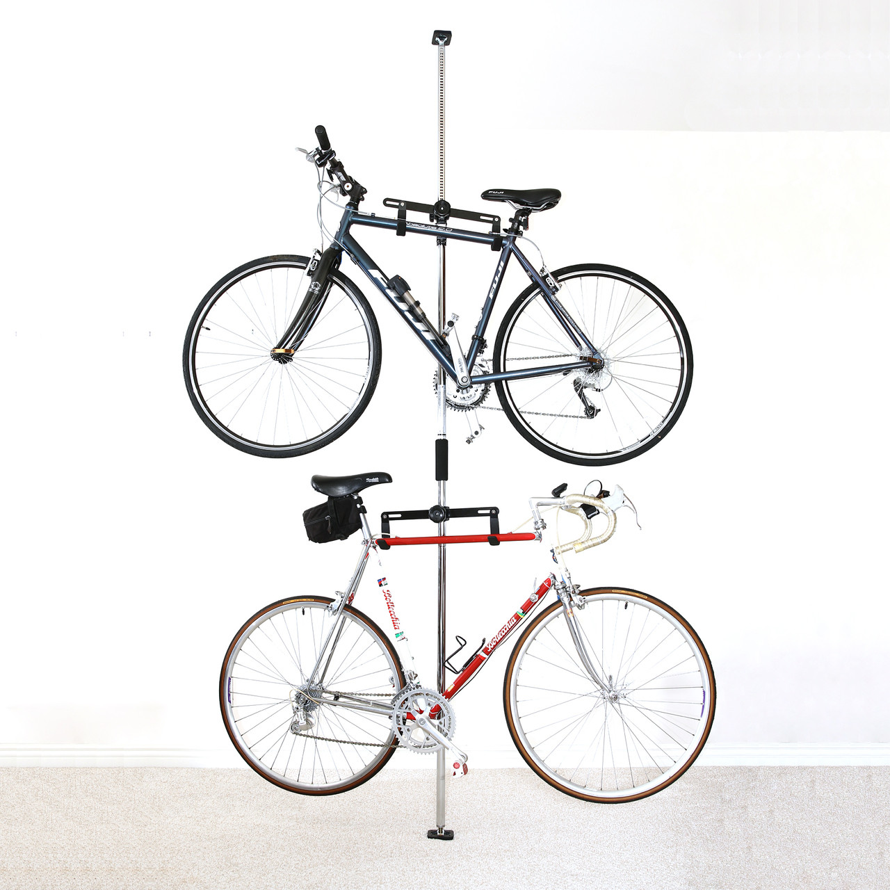 Bike Storage Rack For Apartment Pressure Mount