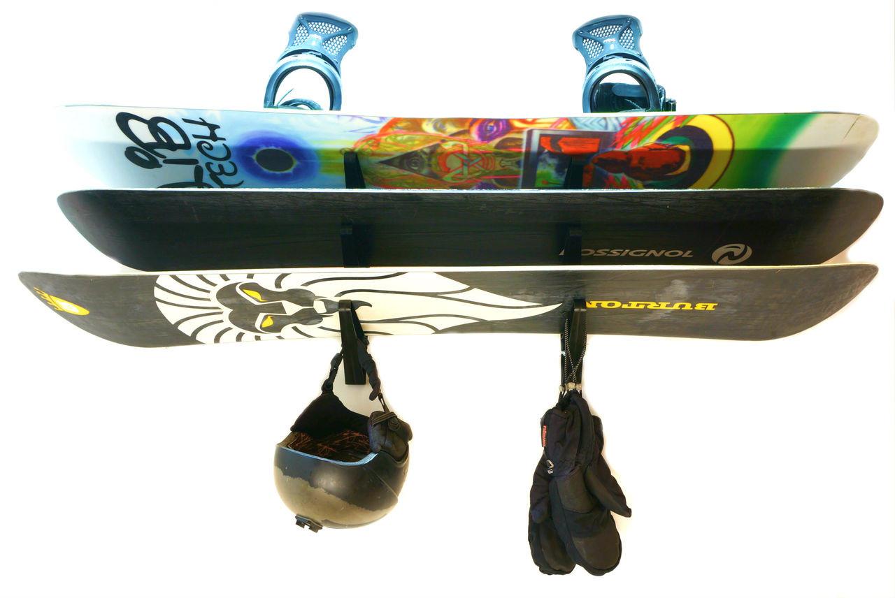 Ski And Snowboard Trifecta Storage Rack Storeyourboard Com