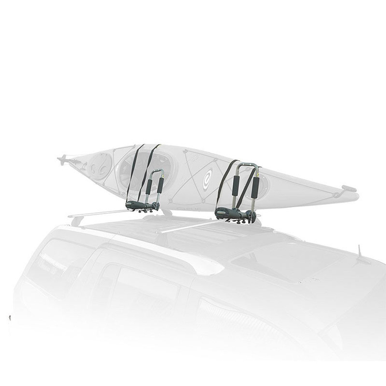 universal kayak roof rack cradle