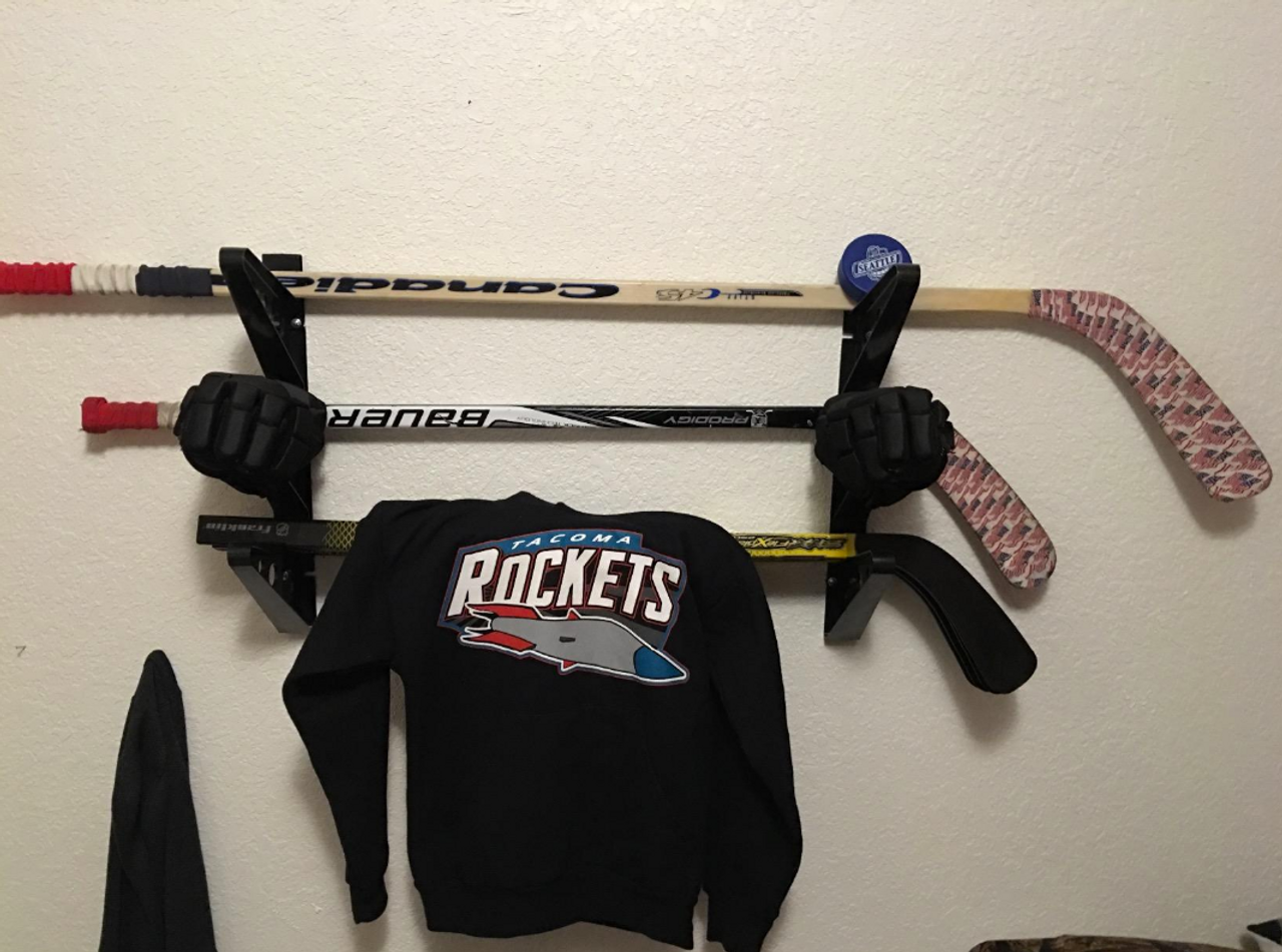 Hockey Stick Trifecta Rack Storeyourboard Com