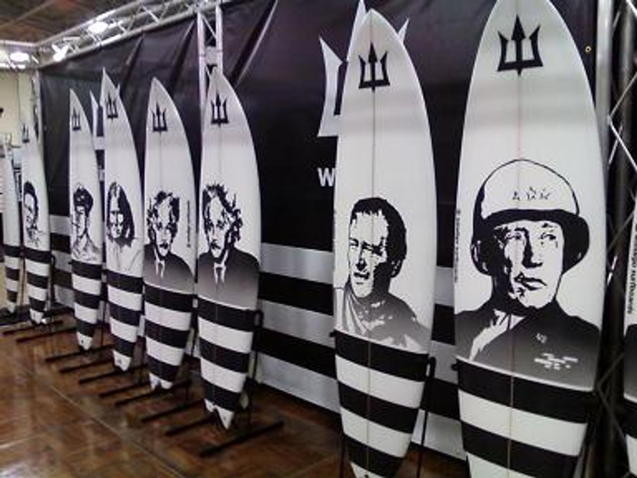 Retail Surfboard Rack Surf Shop Display Rack