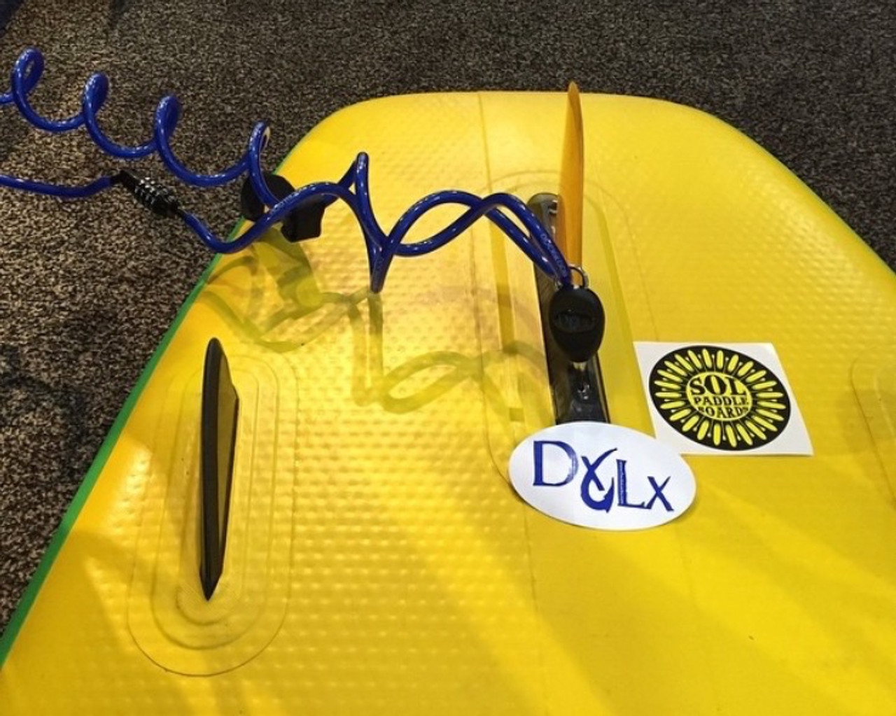 Board Locking System Sup And Surfboard Lock