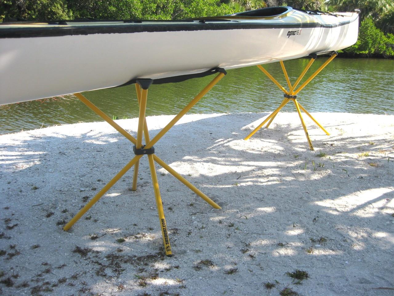 Freestanding Kayak Storage Suspenz Portable Boat Stand