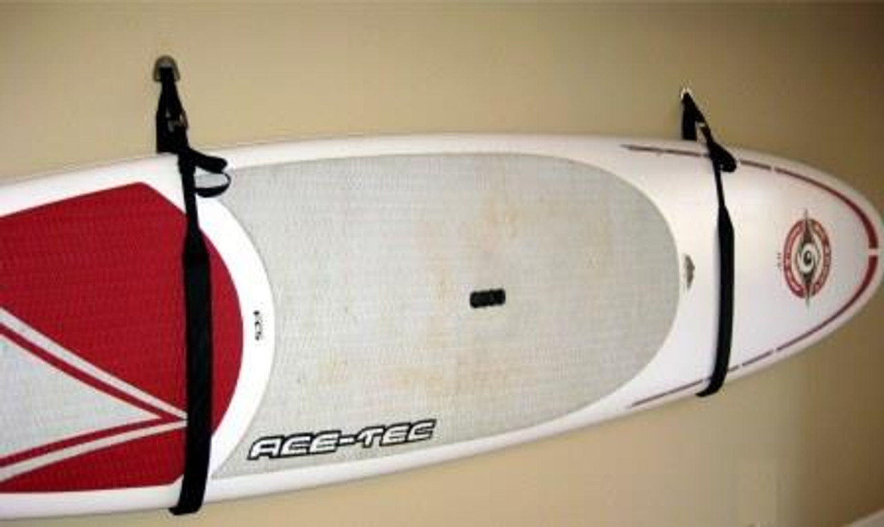 Suspenz DLX strap rack for holding stand up paddleboards