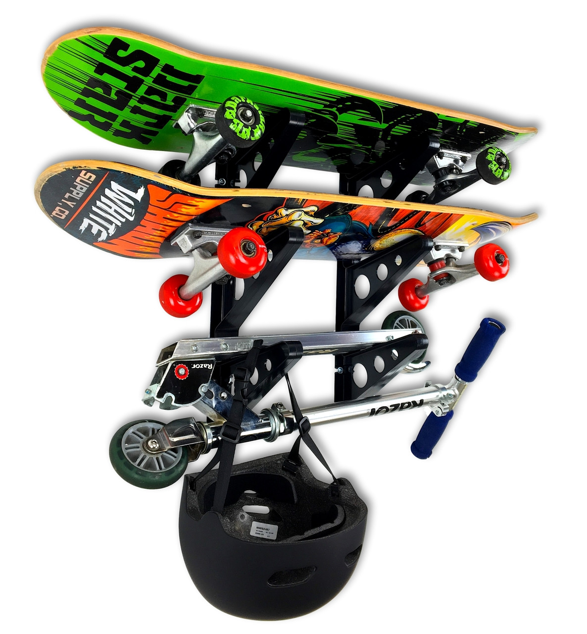 Skateboard Storage Rack Trifecta Rack Storeyourboard Com