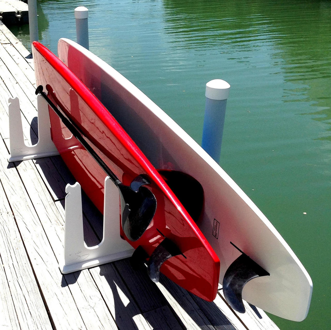 stand up paddleboard rack for docks