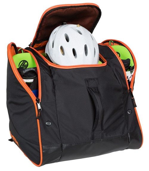 snowboard boot and gear bag
