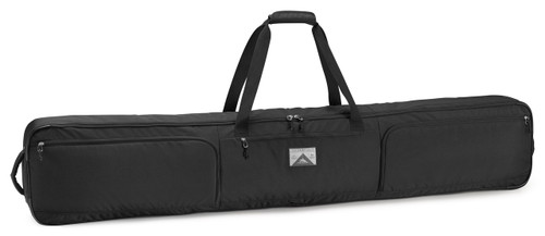 wheeled double snowboard bag
