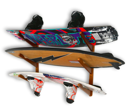 wakeboard home storage wall rack