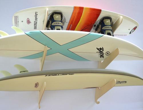 wakesurf rack with adjustable width