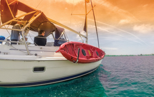 kayak rack for sailboat