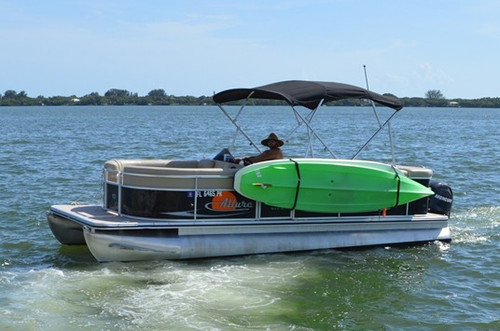 double SUP rack for pontoons