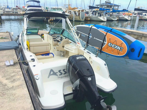 Deluxe Paddleboard Rack for Fishing Boats
