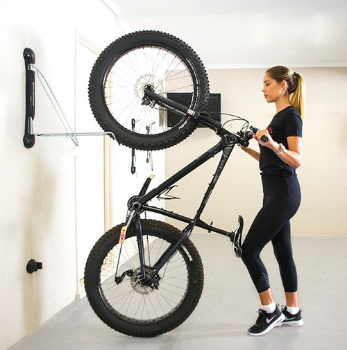 fat tire bike wall rack