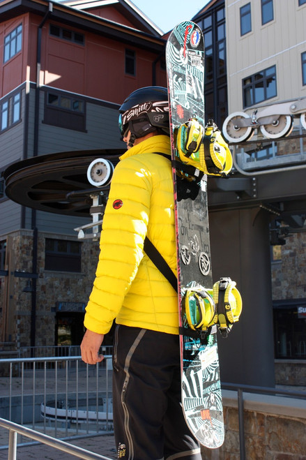 Snowboard Backpack Carry Straps | Mountain Goat Tote