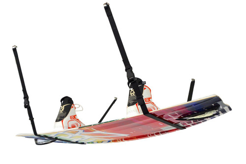 overhead strap system for wakeboards