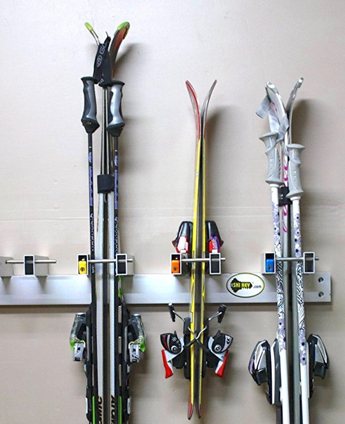 ski key wall rack