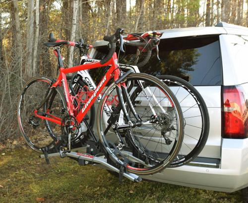 two bike trailer hitch rack