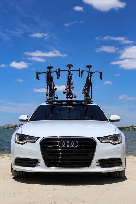 suction mount bike roof rack