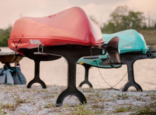 portable kayak beach stand